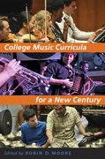 Cover for College Music Curricula for a New Century