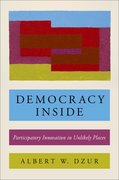 Cover for Democracy Inside