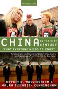 Cover for China in the 21st Century - 9780190659080