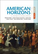 Cover for American Horizons