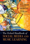 Cover for The Oxford Handbook of Social Media and Music Learning