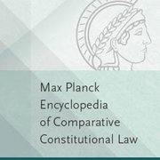 Cover for Max Planck Encyclopedia of Comparative Constitutional Law - 9780190660994