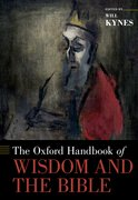 Cover for The Oxford Handbook of Wisdom and the Bible