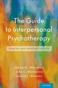 Cover for The Guide to Interpersonal Psychotherapy