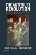 Cover for The Antitrust Revolution