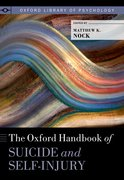 Cover for The Oxford Handbook of Suicide and Self-Injury - 9780190669386