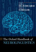 Cover for The Oxford Handbook of Neurolinguistics