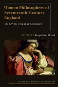 Cover for Women Philosophers of Seventeenth-Century England - 9780190673321
