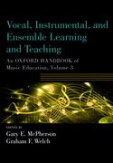 Cover for Vocal, Instrumental, and Ensemble Learning and Teaching