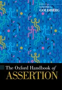 Cover for The Oxford Handbook of Assertion