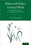 Cover for Ethics and Values in Social Work - 9780190678111