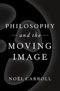 Cover for Philosophy and the Moving Image