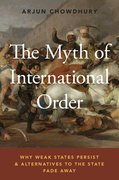 Cover for The Myth of International Order