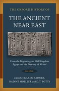 Cover for The Oxford History of the Ancient Near East