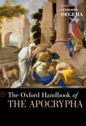 Cover for The Oxford Handbook of the Apocrypha