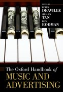 Cover for The Oxford Handbook of Music and Advertising