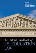 Cover for The Oxford Handbook of U.S. Education Law