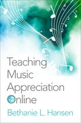Cover for Teaching Music Appreciation Online - 9780190698386
