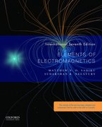 Cover for Elements of Electromagnetics