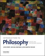 Cover for Introduction to Philosophy - 9780190698720