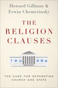 Cover for The Religion Clauses - 9780190699734