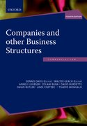 Cover for Companies and other Business Structures