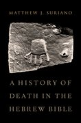 Cover for A History of Death in the Hebrew Bible