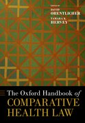 Cover for The Oxford Handbook of Comparative Health Law