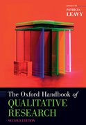 Cover for The Oxford Handbook of Qualitative Research