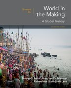 Cover for Sources for World in the Making