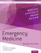 Cover for Emergency Medicine Board Review