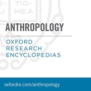 Cover for Oxford Research Encyclopedias: Anthropology