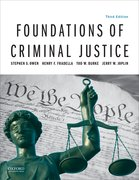 Cover for Foundations of Criminal Justice