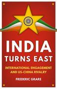 Cover for India Turns East