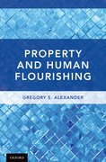 Cover for Property and Human Flourishing - 9780190860745