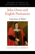 Cover for John Owen and English Puritanism