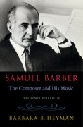 Cover for Samuel Barber