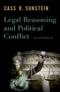 Cover for Legal Reasoning and Political Conflict - 9780190864446