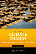 Cover for Climate Change - 9780190866105