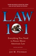 Cover for Law 101 - 9780190866327