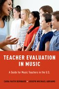 Cover for Teacher Evaluation in Music - 9780190867102