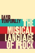 Cover for The Musical Language of Rock