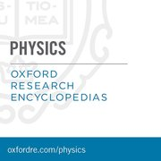 Cover for Oxford Research Encyclopedias: Physics