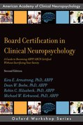 Cover for Board Certification in Clinical Neuropsychology - 9780190875848
