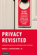 Cover for Privacy Revisited