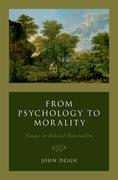 Cover for From Psychology to Morality