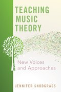 Cover for Teaching Music Theory