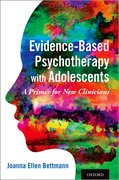 Cover for Evidence-Based Psychotherapy with Adolescents
