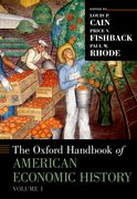 Cover for The Oxford Handbook of American Economic History, vol. 1