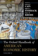 Cover for The Oxford Handbook of American Economic History, vol. 2